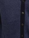 GRP gilet in cotone-lino blu e azzurroshop online gilet uomo