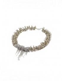 Kyara collana con piccoli moschettoni in argento online