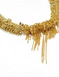 Kyara collana con piccoli moschettoni placcata in oro prezzo