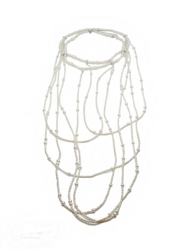 Kyara CC-N004-1-1 multi-strand pearl necklace CC-N004-1-1 jewels online shopping