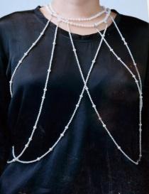 Kyara CC-N004-1-1 multi-strand pearl necklace price