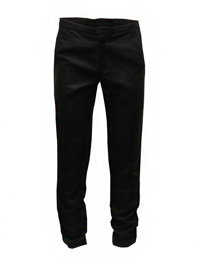 Cy Choi pantaloni Boundary neri in lana CA55P07ABK00 BLK pantaloni uomo online shopping
