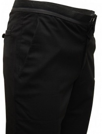 Cy Choi pantaloni Boundary neri in lana prezzo