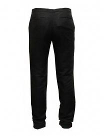 Cy Choi Boundary black pants in linen blend buy online