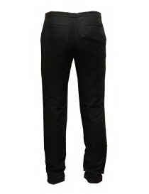 Cy Choi pantaloni Boundary neri in misto lino