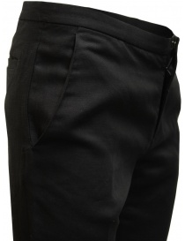 Cy Choi pantaloni Boundary neri in misto lino prezzo