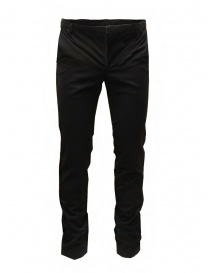 Mens trousers online: Cy Choi Boundary black wool blend pants