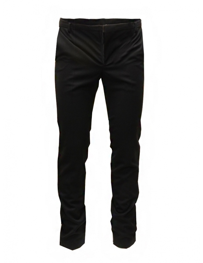 Cy Choi Boundary black wool blend pants CA65P01 ABK00 BK mens trousers online shopping