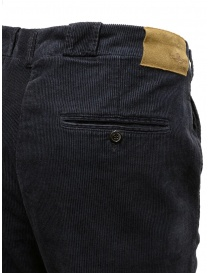 Golden Goose navy blue corduroy chino