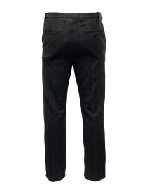 Golden Goose pantaloni grigi in lana a righe