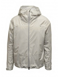 Mens jackets online: Descente 3D Foam Lamination white jacket