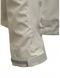 Descente 3D Foam Lamination white jacket