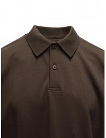 Descente Pause polo marrone t shirt uomo acquista online