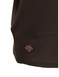 Descente Pause brown polo buy online