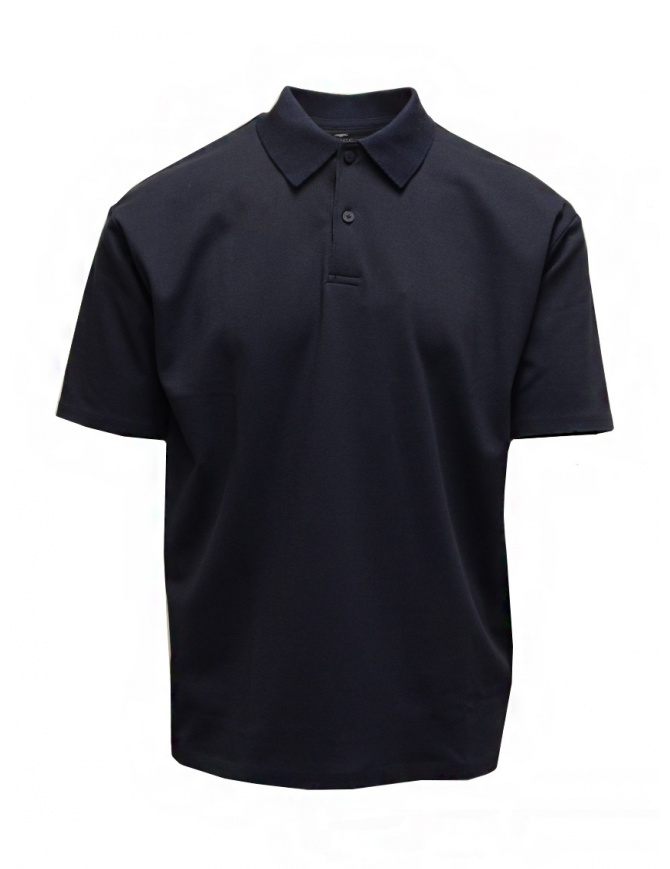 Descente Pause polo blu navy DLMPJA58U NAVY t shirt uomo online shopping