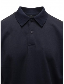 Descente Pause polo blu navy