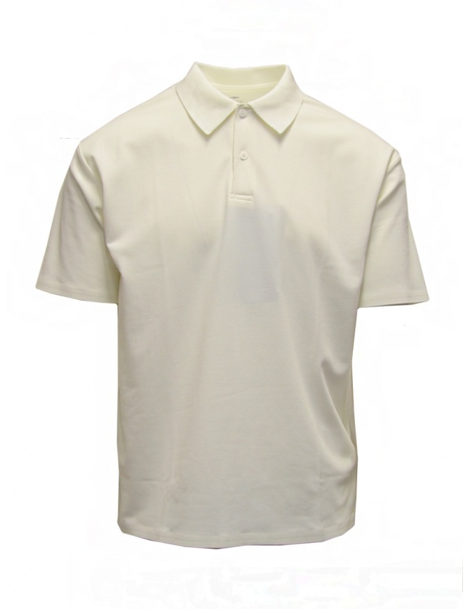 Descente Pause white polo DLMPJA58U WHT mens t shirts online shopping