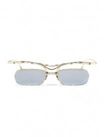Occhiali online: Innerraum OJ2 Golden occhiali rettangolari in metallo dorato