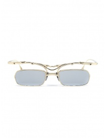 Glasses online: Innerraum OJ2 Golden rectangular glasses in golden metal