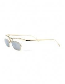 Innerraum OJ2 Golden occhiali rettangolari in metallo dorato