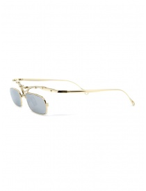 Innerraum OJ2 Golden rectangular glasses in golden metal