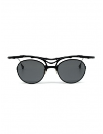 Innerraum OJ1 BM occhiali tondi in titanio nero opaco online