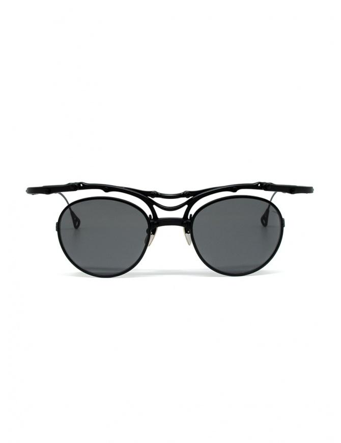 Innerraum OJ1 BM round glasses in matt black titanium OJ1 44-20 BM GREY glasses online shopping