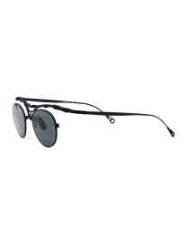 Innerraum OJ1 BM round glasses in matt black titanium