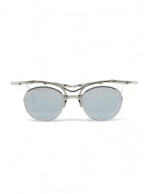 Occhiali online: Innerraum OJ1 Silver occhiali da sole tondi in metallo