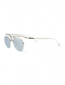 Innerraum OJ1 Silver occhiali da sole tondi in metallo