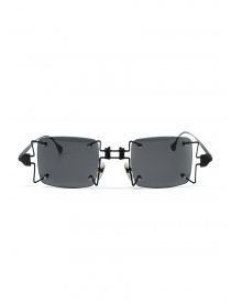 Innerraum O97 BM black metal square glasses O97 45-23 BM GREY order online