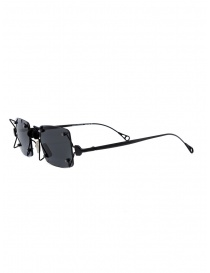 Innerraum O97 BM occhiali quadrati in metallo neri