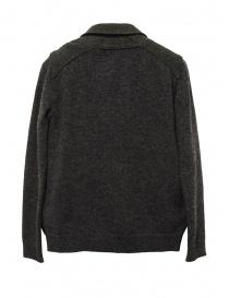 Hiromi Tsuyoshi herringbone green wool blazer-cardigan