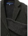 Hiromi Tsuyoshi herringbone green wool blazer-cardigan P-07 CHARCOALGRAY price