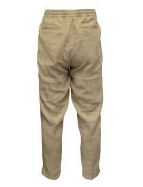 Cellar Door pantaloni Ballet in lino beige