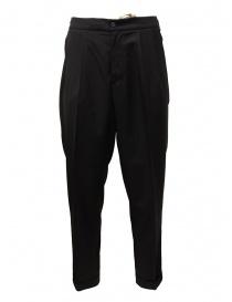 Pantaloni uomo online: Cellar Door pantaloni Ballet neri con le pince