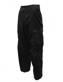 Cellar Door pantaloni Pit neri con tasche laterali