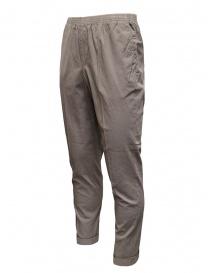 Cellar Door pantaloni Alfred grigio tortora effetto increspato prezzo