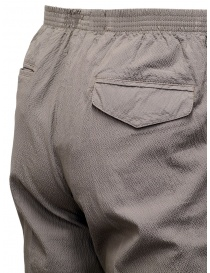 Cellar Door pantaloni Alfred grigio tortora effetto increspato pantaloni uomo acquista online