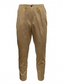 Mens trousers online: Cellar Door Ciak trousers in beige
