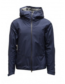 Mens jackets online: Descente 3D Foam Lamination navy blue jacket