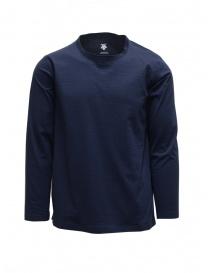 Descente Tough Ligt maglia a maniche lunghe blu SHIRT DAMPGB62U NVBS
