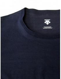 Descente Tough Ligt blue long sleeve shirt mens knitwear buy online