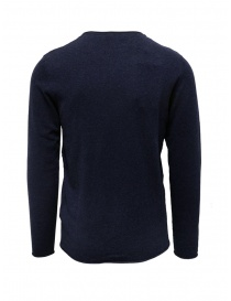 Selected Homme sweater in sapphire blue silk blend cotton