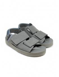 Calzature uomo online: Sandali Descente x Suicoke grigi per AllTerrain