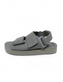 Descente x Suicoke grey sandals for AllTerrain price