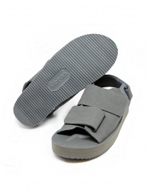 Descente x Suicoke grey sandals for AllTerrain mens shoes price