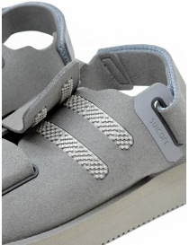 Descente x Suicoke grey sandals for AllTerrain