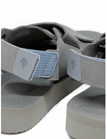 Descente x Suicoke grey sandals for AllTerrain buy online price