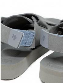 Sandali Descente x Suicoke grigi per AllTerrain acquista online prezzo